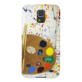 Artists Paint Splatter And Pallet of Paint Galaxy S5 Cover