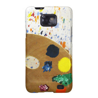 Artists Paint Splatter And Pallet of Paint Galaxy SII Case