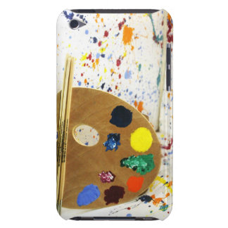 Artists Paint Splatter And Pallet of Paint Barely There iPod Covers