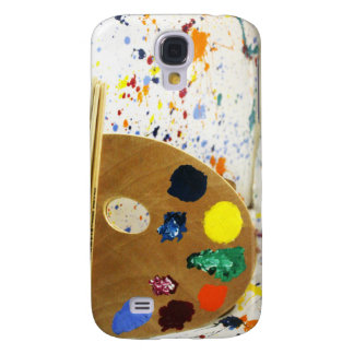 Artists Paint Spler And Pallet of Paint Samsung Galaxy S4 Cover