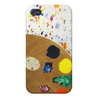 Artists Paint Spler And Pallet of Paint Covers For iPhone 4