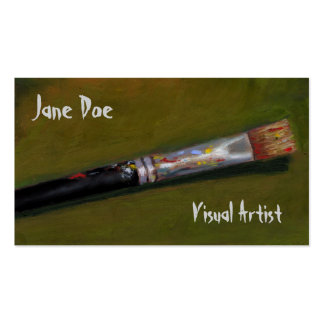 ARTIST'S PAINTBRUSH: BUSINESS CARD