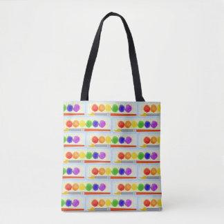 Artists Painters Paint Palette Box Brush Pattern Tote Bag