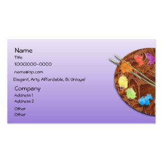 Artist's Palette Business Card
