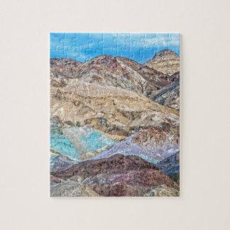 Artist's Palette (Close-Up) Puzzles