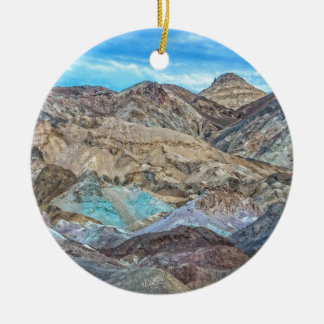 (Artist's Palette) Death Valley National Park Christmas Ornament