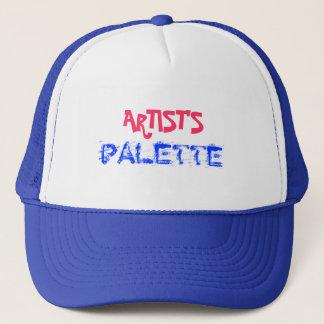 ARTIST'S PALETTE TRUCKER HAT