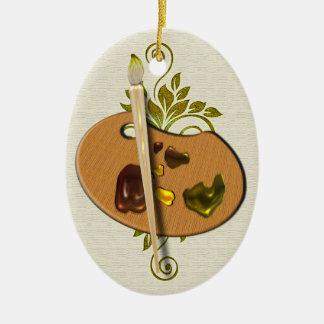 Artists Pallette Ornament