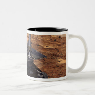 Artists rendition of Mars Rover 2 Two-Tone Mug