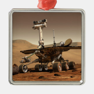 Artist's Rendition of Mars Rover Christmas Ornament