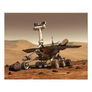 Artist's Rendition of Mars Rover Photo Art