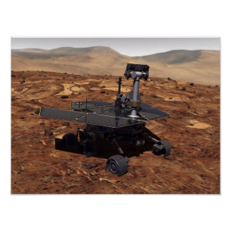 Artists rendition of Mars Rover Print