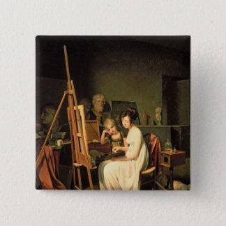 Artist's Studio 15 Cm Square Badge