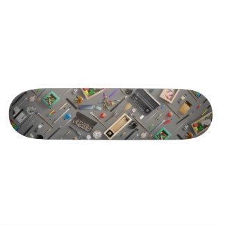 Artist's supplies 20 cm skateboard deck