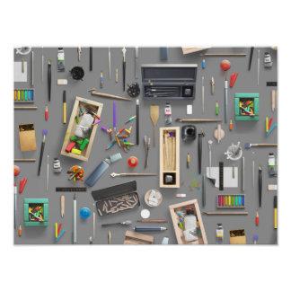 Artist's supplies photo