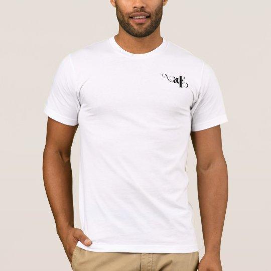 ArtOfFine Men's White Tight T-Shirt