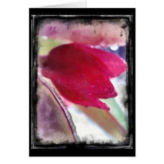 Artography - Morning flower card