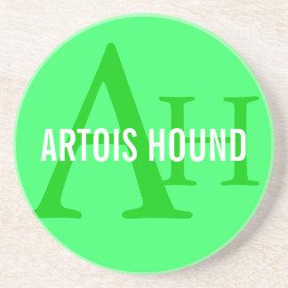 Artois Hound Monogram Beverage Coasters