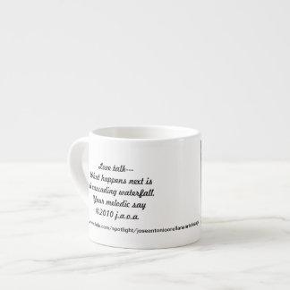 Artolozaga Haiku & Poems #2 Espresso Mug