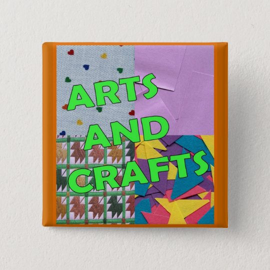 Arts and Crafts Button
