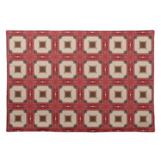 Arts and Crafts Geometric Tile Pattern Placemat