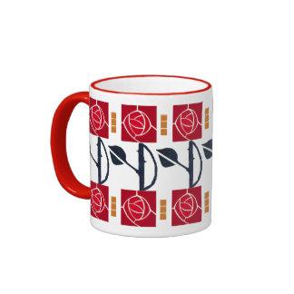 Arts and Crafts Mission Rose Mug