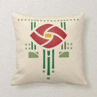 Arts and Crafts Rose Cushion