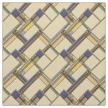 Arts & Crafts Fall Geometric Pattern Fabric