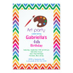 Arts & Crafts Kids Paint Birthday Party