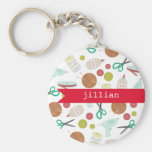 Arts & Crafts Personalised Keychain