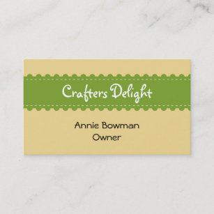Handmade craft business cards zazzle uk arts crafts ribbon accessories handmade business business card colourmoves