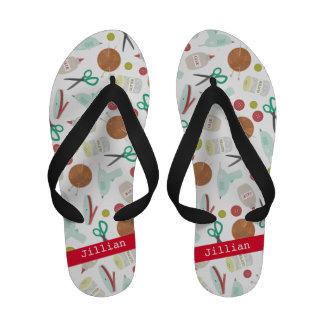Arts Crafts Theme Personalized Sandals