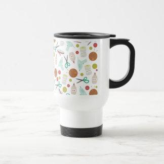Arts & Crafts Themed Mug