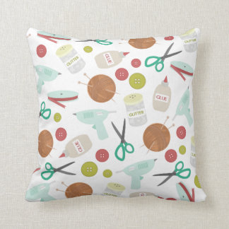 Arts & Crafts Themed Pillow