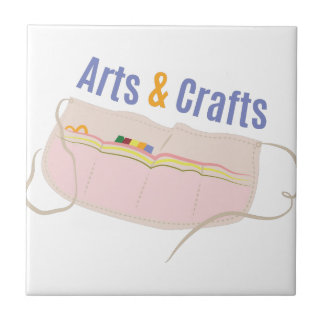 Arts & Crafts Small Square Tile
