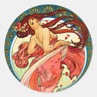 Arts Dance Round Sticker