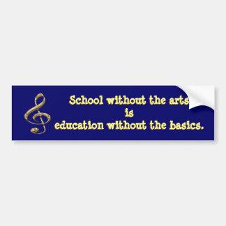 Arts in Education Bumper Sticker