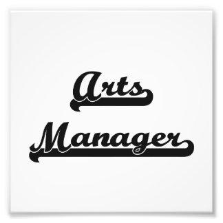 Arts Manager Artistic Job Design Photo Print