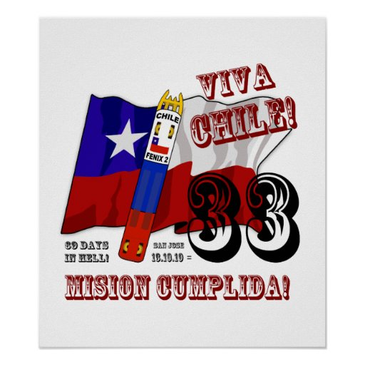 Arts To The World! - Viva Chile Mision Cumplida! Poster