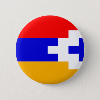 Artsakh (Nagorno-Karabakh) Flag 6 Cm Round Badge