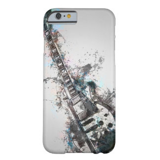 Artsy Abstract Guitar Illusion Phone Case