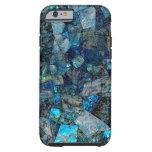 Artsy Abstract Labradorite Gems iPhone 6 Case Tough iPhone 6 Case