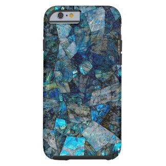 Artsy Abstract Labradorite Gems iPhone 6 Case