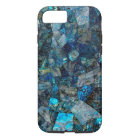 Artsy Abstract Labradorite Mosaic iPhone 7 Case