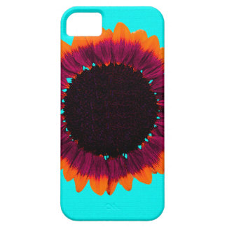 Artsy and Abstract Autumn Sunflower iPhone 5 Cover