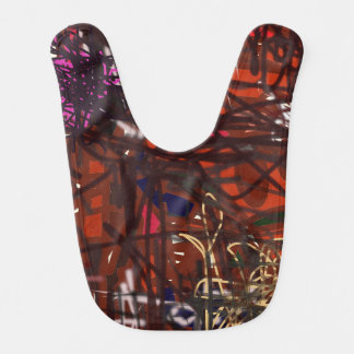 Artsy Bib Colorful Vibrant and Fun. A WOW Factor!