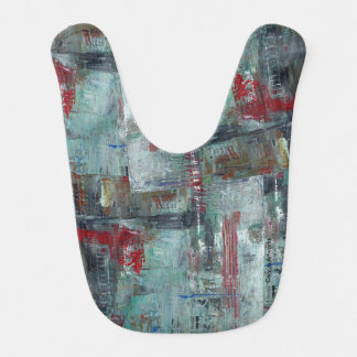 Artsy Bibs with Abstract Designs - WOW Factor!