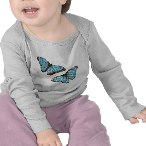 Artsy Butterflies Tee Shirts