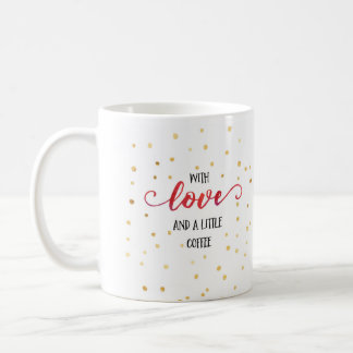 Artsy, decorative coffee mug