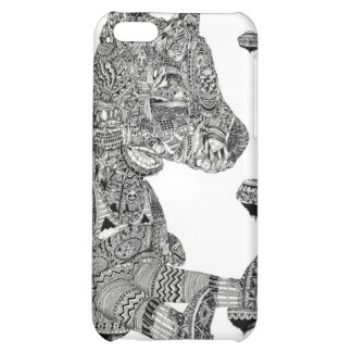 Artsy Doggy Case For iPhone 5C